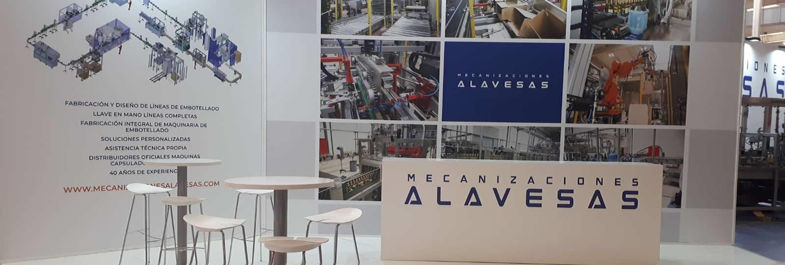 Montaik enpresa-stand bat muntatu zuen Mecanizaciones Alavesas enpresarentzat