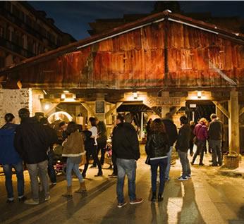 2019ko abenduan, Apurua Euskal Sagardoa ekitaldiaren muntaia osoa Donostian